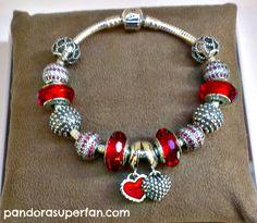 red pandora bracelet