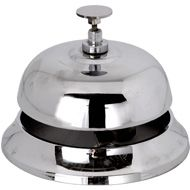 This desk bell is perfect for office use and its silver colour adds to its physical appeal…