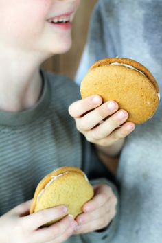 Ada and Anna's Maple Sandwich Cookies {Whoopie Pies}