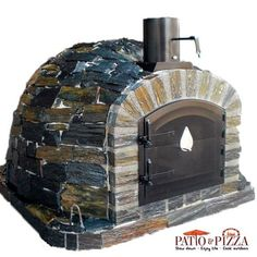 Lisboa Stone Brick Outdoor Pizza Oven by Authentic Pizza Ovens