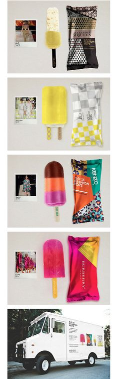 very cool ice cream fashion design