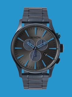 Ushering In The New, Welcome The Sentry Chrono LTD. Limited to 500 pieces worldwide at select Nixon retailers now.