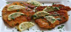 Een lekker koolhydraatarm hoofdgerecht, kip piccata. Dit kip recept kan je als hoofdgerecht serveren met groente naar keuze.