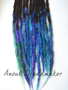 #anoukdreadmaker #dreadlocks #locks #synthetic #crocheted #extensions