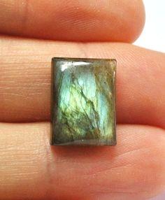 Labradorite Gemstone Cabochon Rectangle  16.3 x 12.1 x 5.7 mm by AliveGems, $5.00  https://www.etsy.com/listing/115157332/labradorite-gemstone-cabochon-rectangle