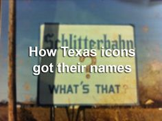 The origins of famous Texas pronouns can perplex anyone unaware of the state's history and pop culture.   Yes, the Cotton Bowl is named after the crop. But it's not the same case for Rice University – named after a New England businessman who made his fortune in Texas.