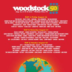 4d2104dced71ae Woodstock 50th Anniversary Festival Tickets Cheap