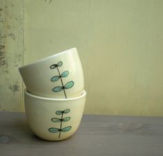 two small cups by catherine reece
