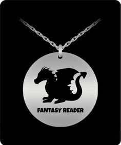 I Believe In Dragons Pendant Fantasy Authors, Dragon Pendant, Round Pendant, Laser Engraving, Stainless Steel, Necklaces, Silver, Stuff To Buy, Jewelry