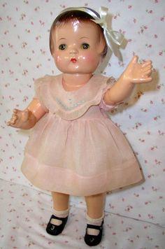 "1930s Effanbee 19"" PATSY ANN Doll -- All Original"
