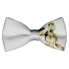 www.SocietyOfWomenWhoLoveShoes.org Sweet bow ties // ja poca madre star wars bow tie todo el outfit d un geek