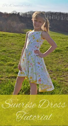 PACountryCrafts: Sunrise Dress Tutorial