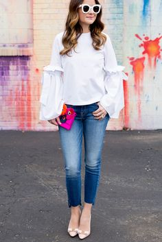 The Perfect Step Hem Jeans