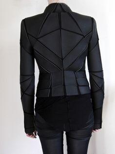 Gareth Pugh _ Geometric Paneled Jacket - StyleZeitgeist