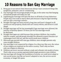 These reasons are just so logical, it's a wonder why more of us liberals don't understand. *snort*