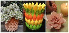 Obiecte decorative din lingurite de plastic – 9 proiecte minunate Cu totii avem in casa lingurite din plastic, uitate in sertarul mobilei de bucatarie. Nimic neobisnuit pana acum. Idei de obiecte decorative http://ideipentrucasa.ro/obiecte-decorative-din-lingurite-de-plastic-9-proiecte-minunate/
