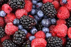 Extend the life of your Berries by filling a bowl with one part apple cider vinegar to ten parts water, dumping in the berries & swirling them around a bit and then draining.  Place them in a covered container (do not reuse the packaging that they came in) and then put them in the fridge.  The vinegar kills any mold spores or bacteria on the berries which should make your berries last for one to two weeks without going bad.  Great to know!