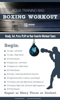 Boxing Cardio Workout Boxercise Boxer Heavy Bag Workouts