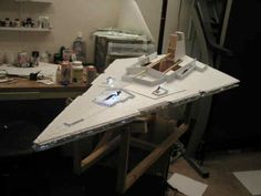 Pure Star Wars There are other models besides the Star Destroyer so click around. The first time I tried this project was It involved a lot of cardboard, masking tape and several precar…