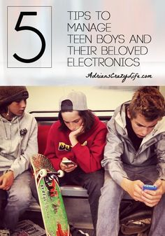 5 Tips to Manage Teen Boys and their Beloved Electronics. This is a serious problem the parents of many boys struggle with. Here are some tips to help.