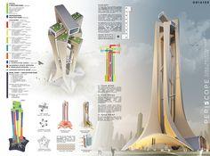 2nd. Niculae Grama, Valentin Ionascu, Mihai Chisarau, Marius Pandele - Romania #tower #skyscraper