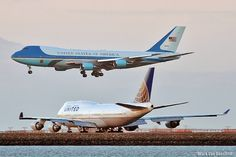 "United Airlines Boeing and Boeing ""Air Force One"" Military Jets, Military Aircraft, Boeing Aircraft, Jumbo Jet, Commercial Aircraft, Military Equipment, Jet Plane, Air Force Ones, Tanks"