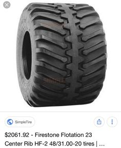 "48"" Firestone terra tires"