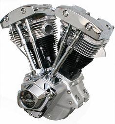 Shovelhead engine.
