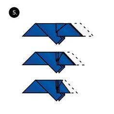 How to Fold a Pocket Square with the Fleur de Lis
