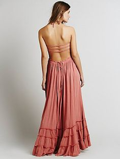 Extratropical Dress - Wood Rose | Free People | Get up to 9.2% Cashback when you shop at Free People as a DubLi member! Not a member? Sign up for FREE today! www.downrightdealz.net
