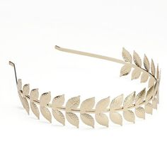 NAMRATA JOSHIPURA Beaded Leaf Headband