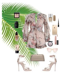 """""""romp"""" by iamvalquiria ❤ liked on Polyvore featuring Zimmermann, Dsquared2, MKF Collection, Forever 21, Charlotte Russe, e.l.f., MAC Cosmetics, Christian Louboutin and Bobbi Brown Cosmetics"""
