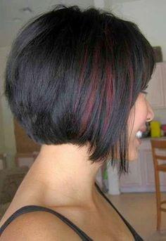 Medium hairstyles back view of short haircuts 2014