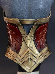 Wonder Woman Movie, Wonder Woman Cosplay, Super Hero Outfits, Super Hero Costumes, Cosplay Armor, Cosplay Costumes, Disfraz Wonder Woman, Diy Corset, Amazonian Warrior