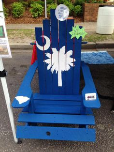#SC #PalmettoMoon Adirondack Chair!