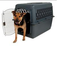Air Travel Kennel Dog Kennels for Large Dogs Airline Approved Pet Porter 50-70 P #AspenpetPetPorter