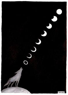 Howling At The Moon by Troche