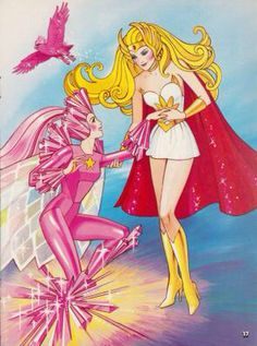 She-Ra & Jewelstar of The Star Sisters.