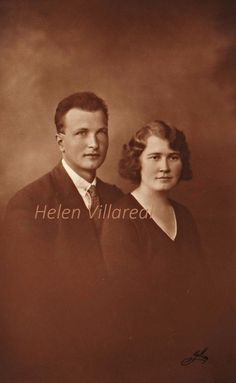 Beautiful Vintage Digital image of young couple my grandparents by TulaBarthVillareal on Etsy Young Couples, Grandparents, Digital Image, Professional Photographer, Just Love, Vintage Photos, Norway, All Things, History