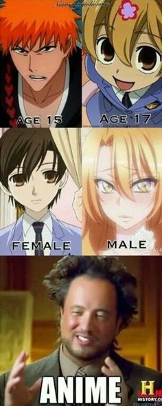 Anime: a place where age and gender are bent to the absolute extreme.