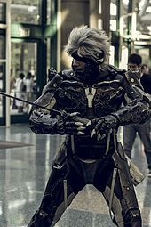 A cosplay of Raiden at Anime Expo 2013