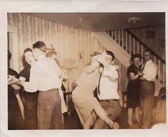 Swing Dance - Hehe, one of these couples is not like the others...