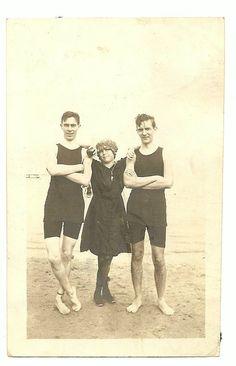 Edwardian Swimsuit Fashion