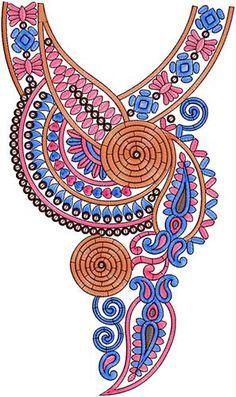 Indian Royal Princess Dress Neck