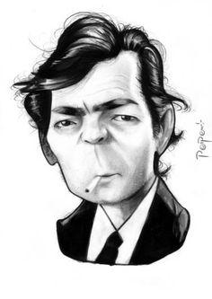 Parpa Caricaturas: Julio Cortazar