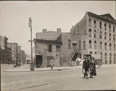 The northwest corner of 7th Ave & Greenwich Ave, 1920