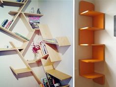 Corner diy solutions  Refurbished Ideas