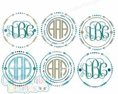 Arrow Monogram Svg Files, Cute Arrow Svg Digital Design, Cutting files for Silhouette & Cricut - Svg Dxf Eps, Png Silhouette Cuttable Frames Monogram Alphabet, Monogram Frame, Monogram Fonts, Doodle, Cute Arrow, Arrow Svg, Cheer Mom, Iron On Vinyl, New Fonts