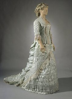 Fripperies and Fobs : PhotoBridesmaid's dress, 1882
