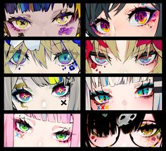 Eyes Drawing - 75 Picture Ideas - Anime New Photos Realistic Eye Drawing, Manga Drawing, Manga Art, Drawing Sketches, Anime Art, Art Drawings, Eye Sketch, Drawing Ideas, Anime Style